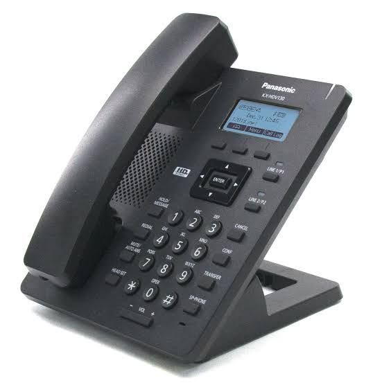 Panasonic PABX switchboard system with 3 IP phones