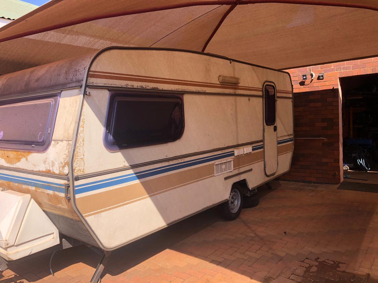 Selling Sprite CI Caravan, 1984 model.