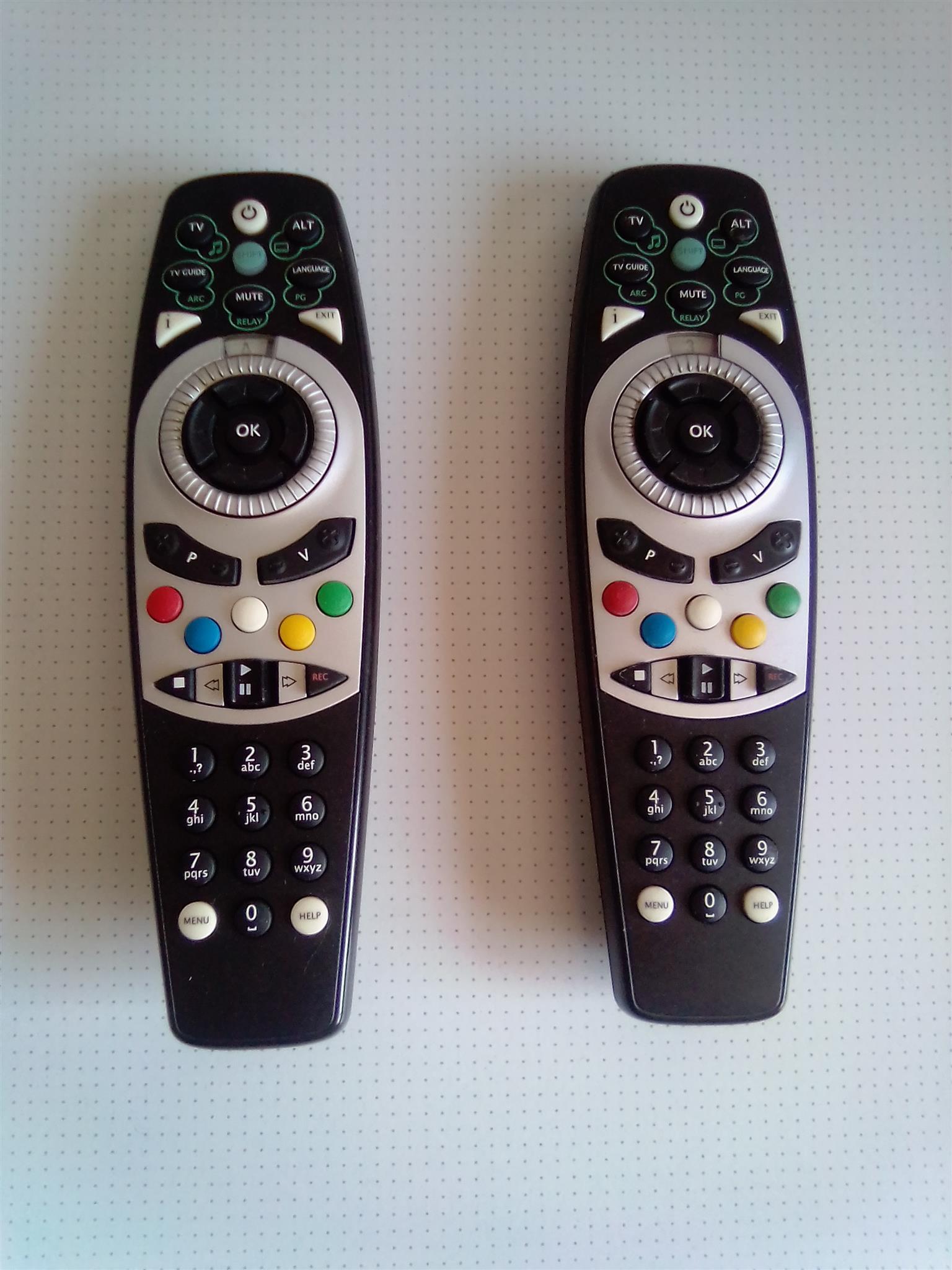 PVR1 Remote Control . R90 each.