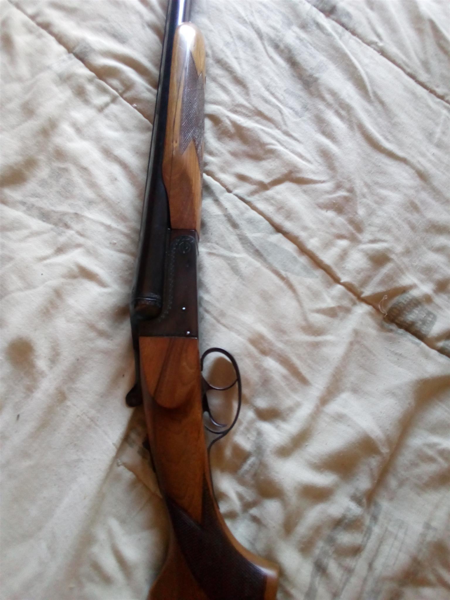 Zabala side by side shotgun