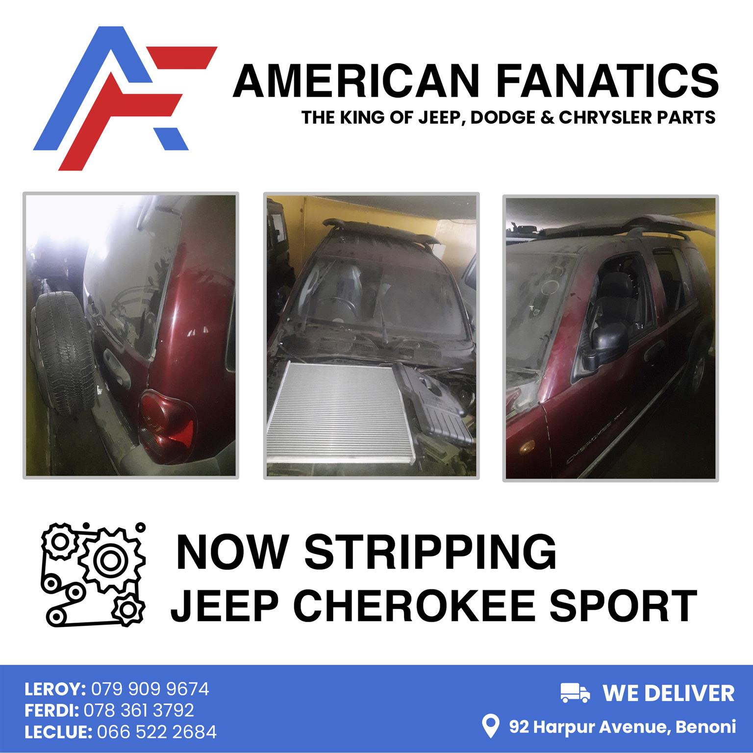 Cars for Stripping Jeep