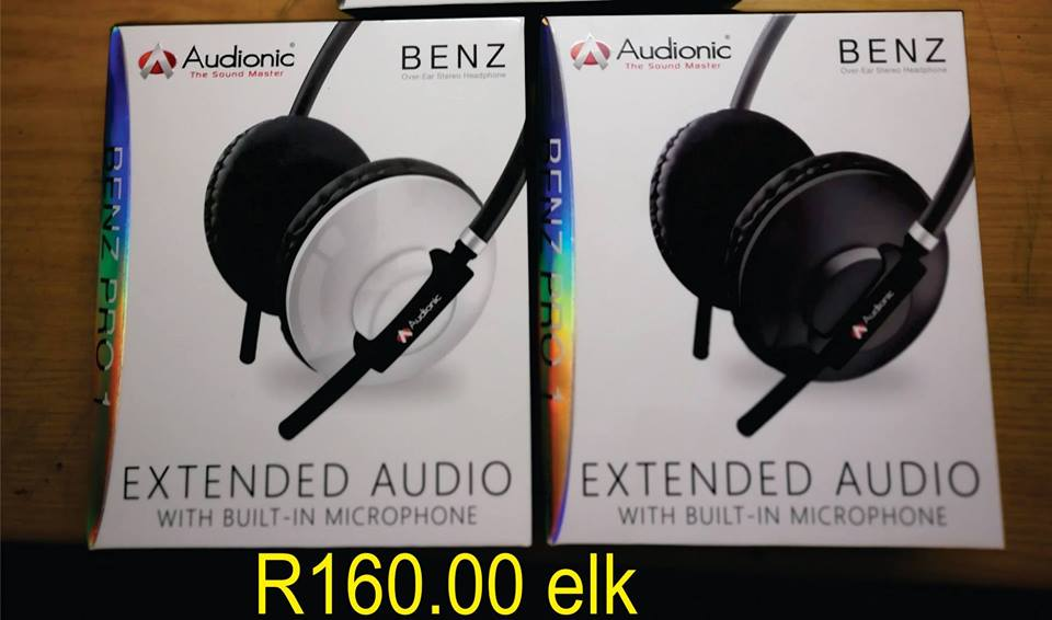 Audionic headphones for sale