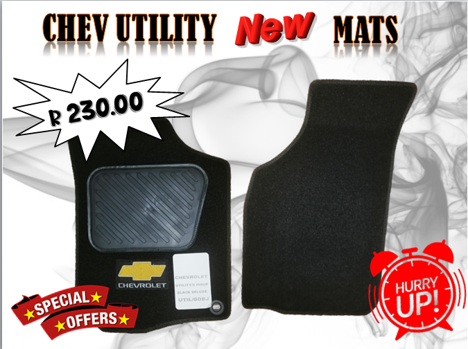 CHEV UTILITY NEW MATS FOR SALE
