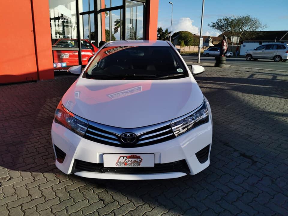 2014 Toyota Corolla 1.6 Advanced