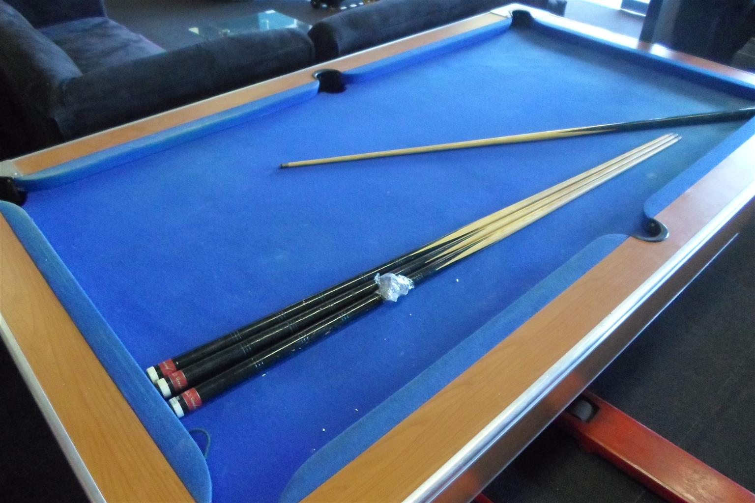 Pool Table + Accessories