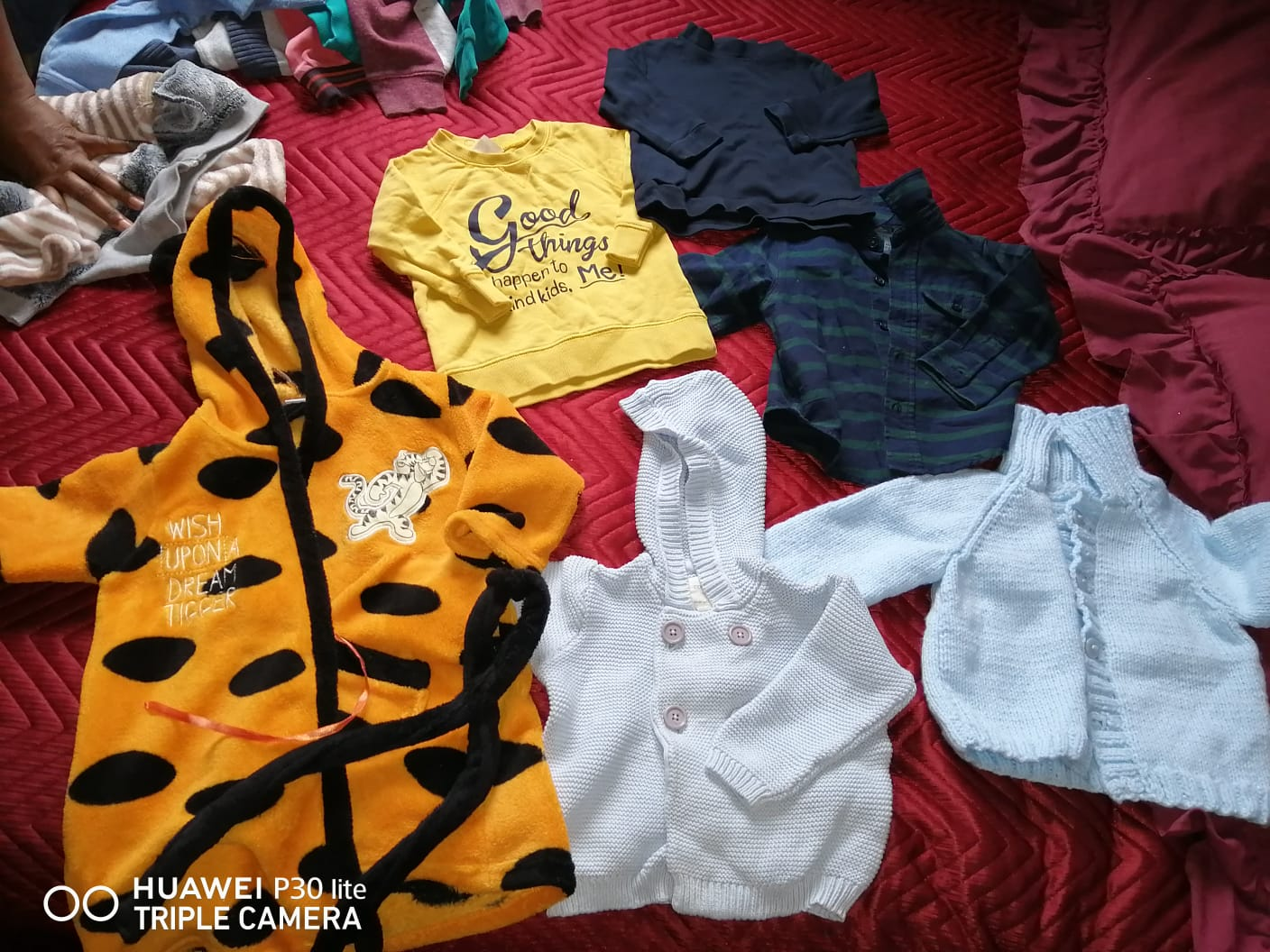 Loads and loads of baby clothing very cheap food for resale too
