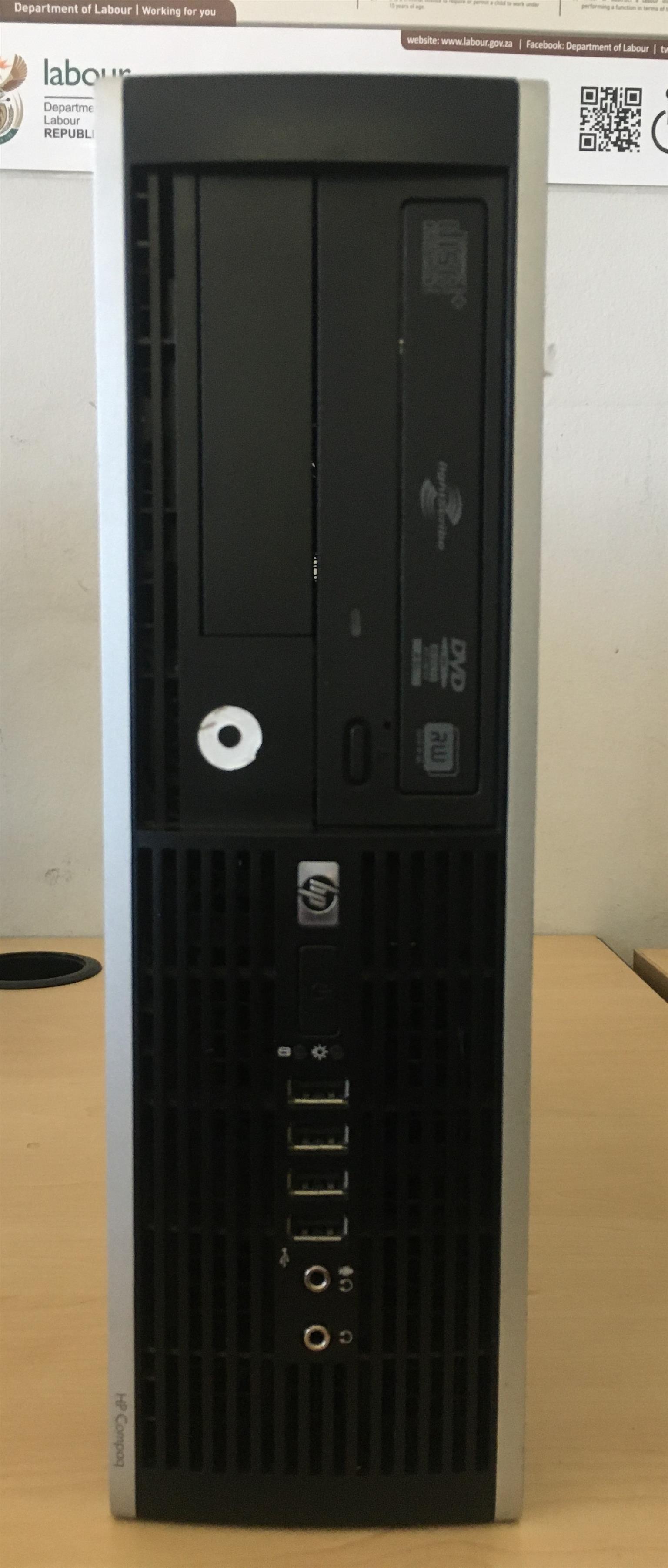 HP COMPAQ ELITE 8100 SFF i5 (NO MONITOR)