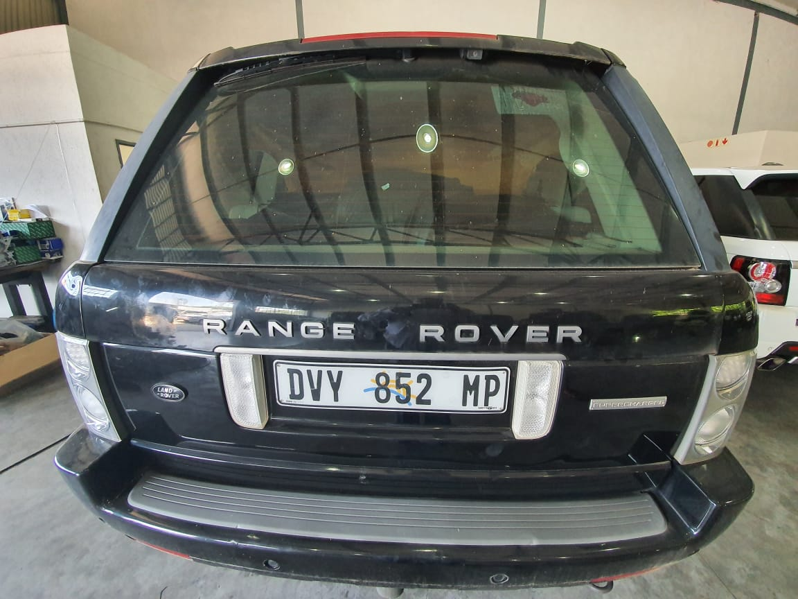2008 Land Rover Range Rover L Supercharged Autobiography Black