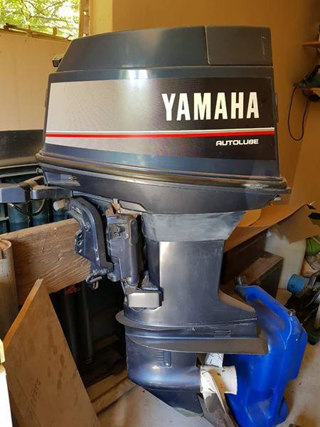 Yamaha 40 short shaft tiller