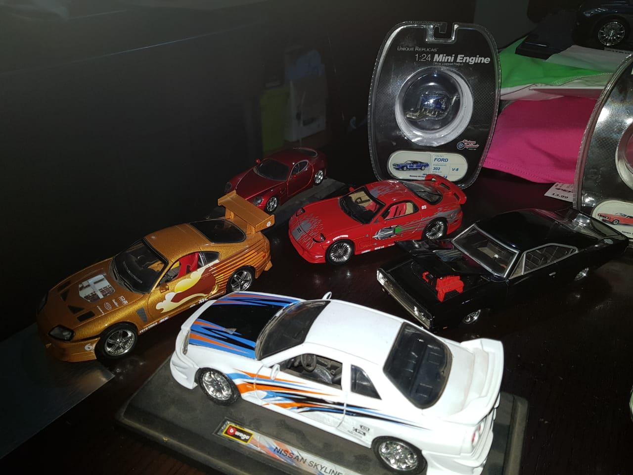 Model scale cars