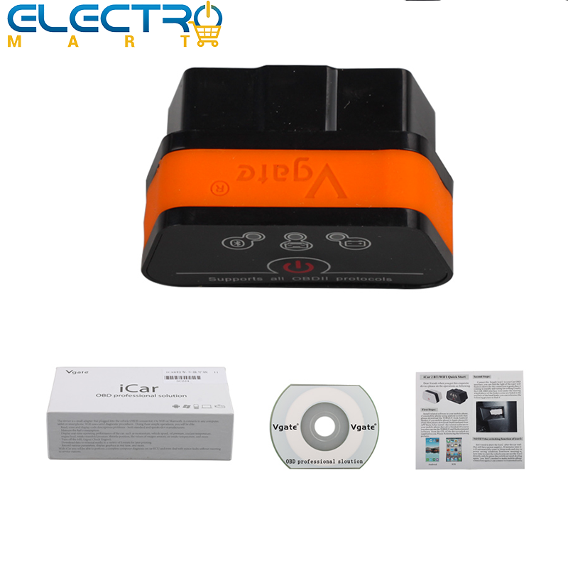 Vgate iCar2 Bluetooth Auto Diagnostic Scan Tool