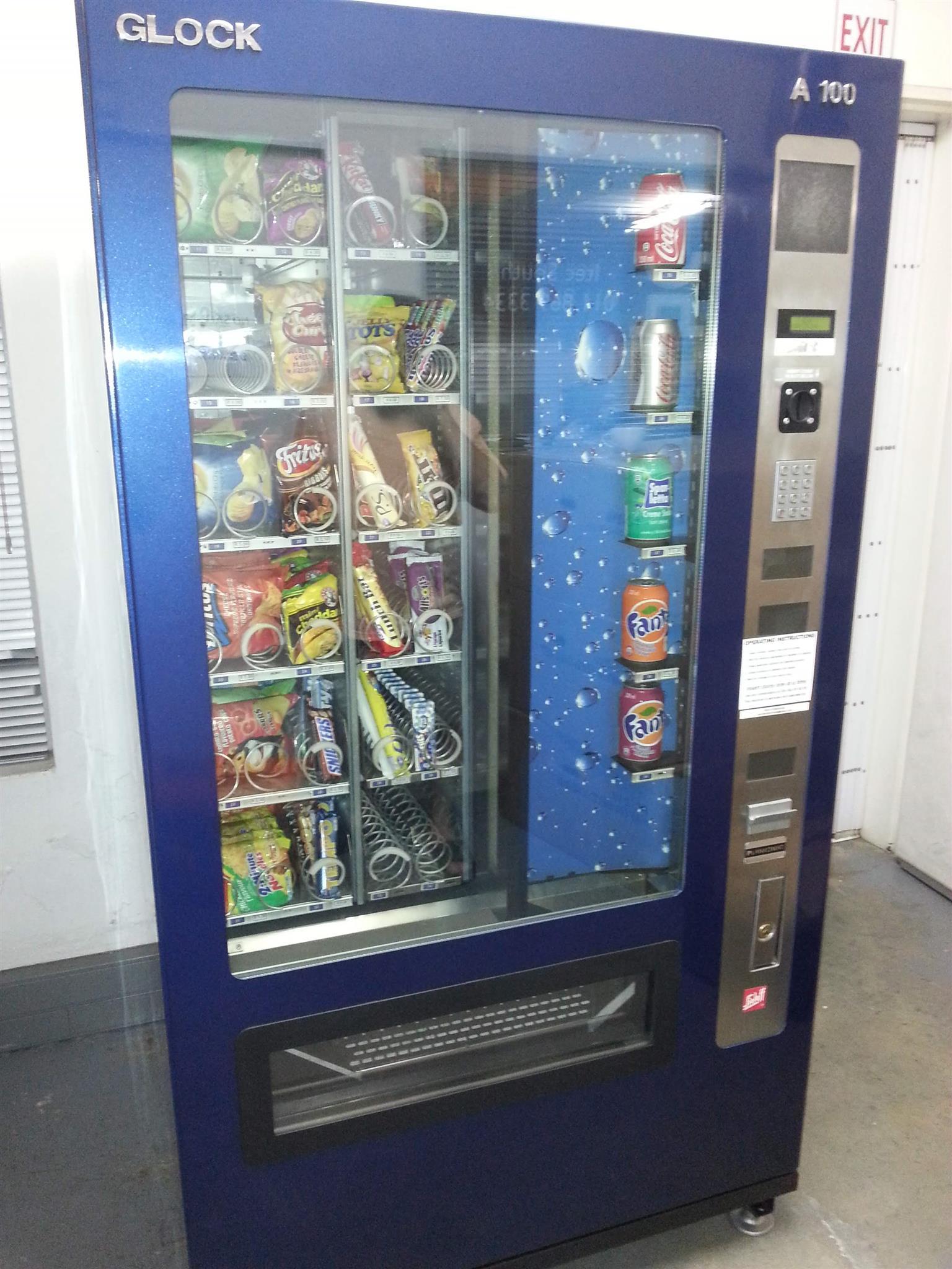 Combination Vending Machine
