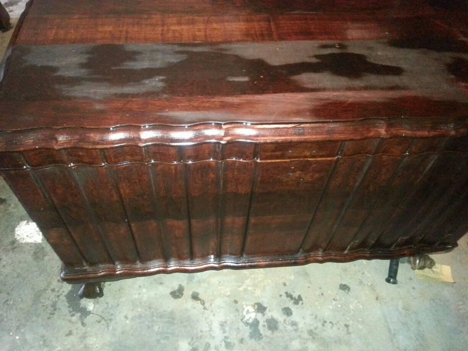 Antique wooden chest for sale