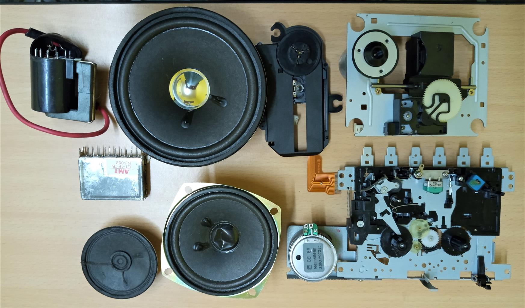 electronis spares parts