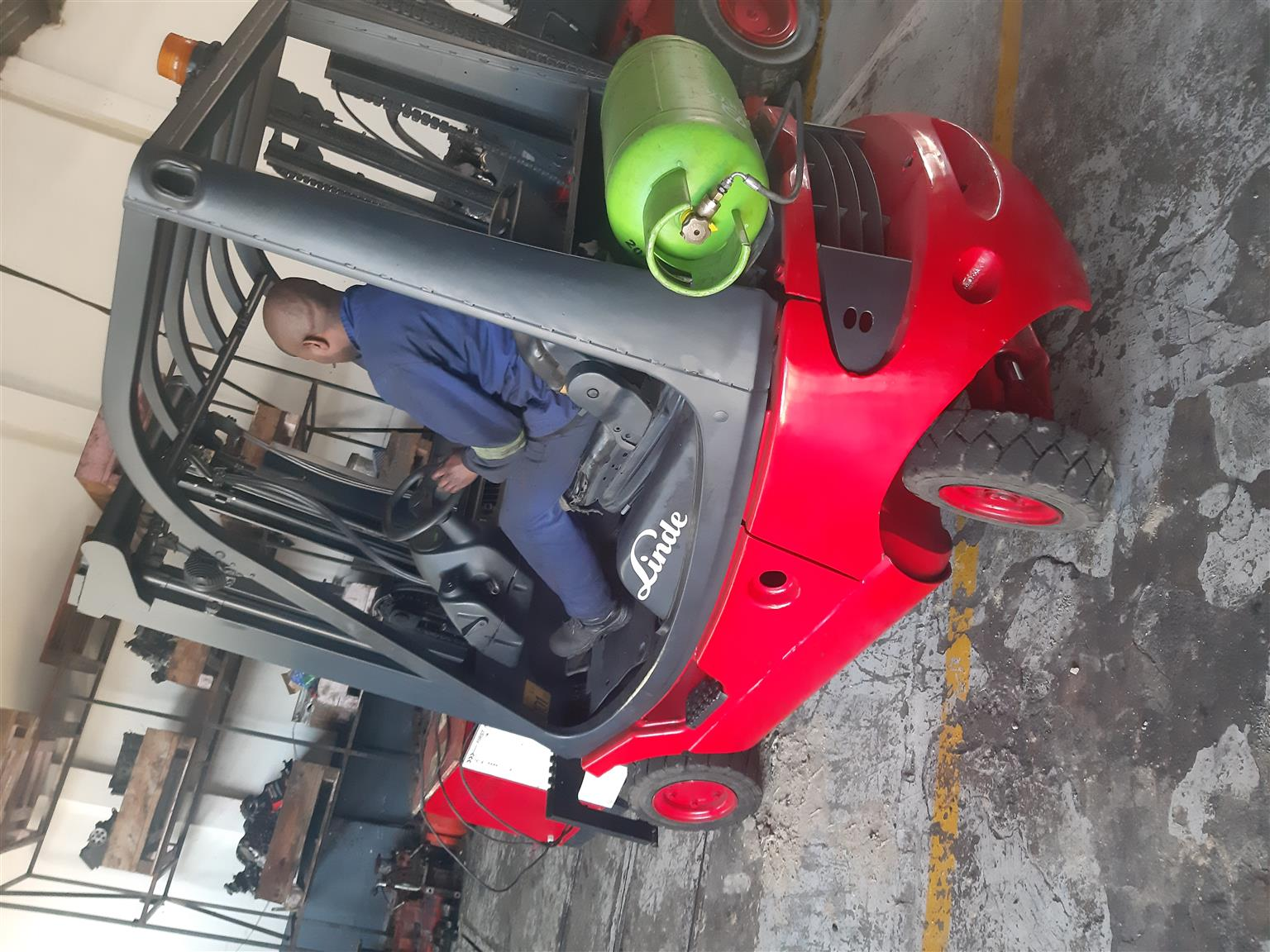 LINDE 1.8 TON MACHINES FOR SALE