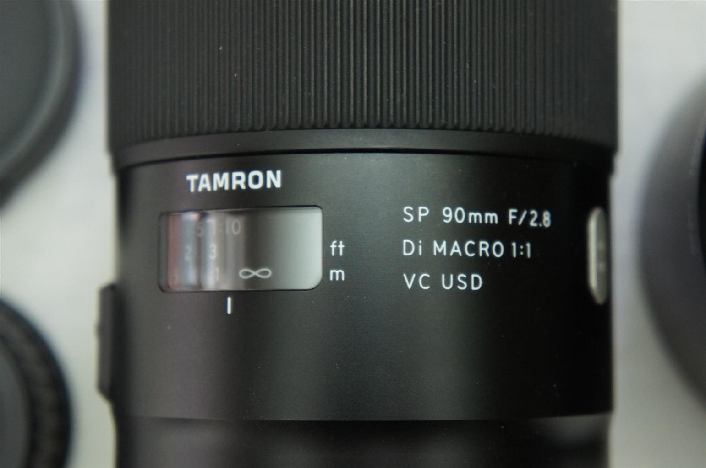 Tamron SP 90mm f/2.8 Di Macro 1:1 VC USD Lens (Nikon) Mint Condition