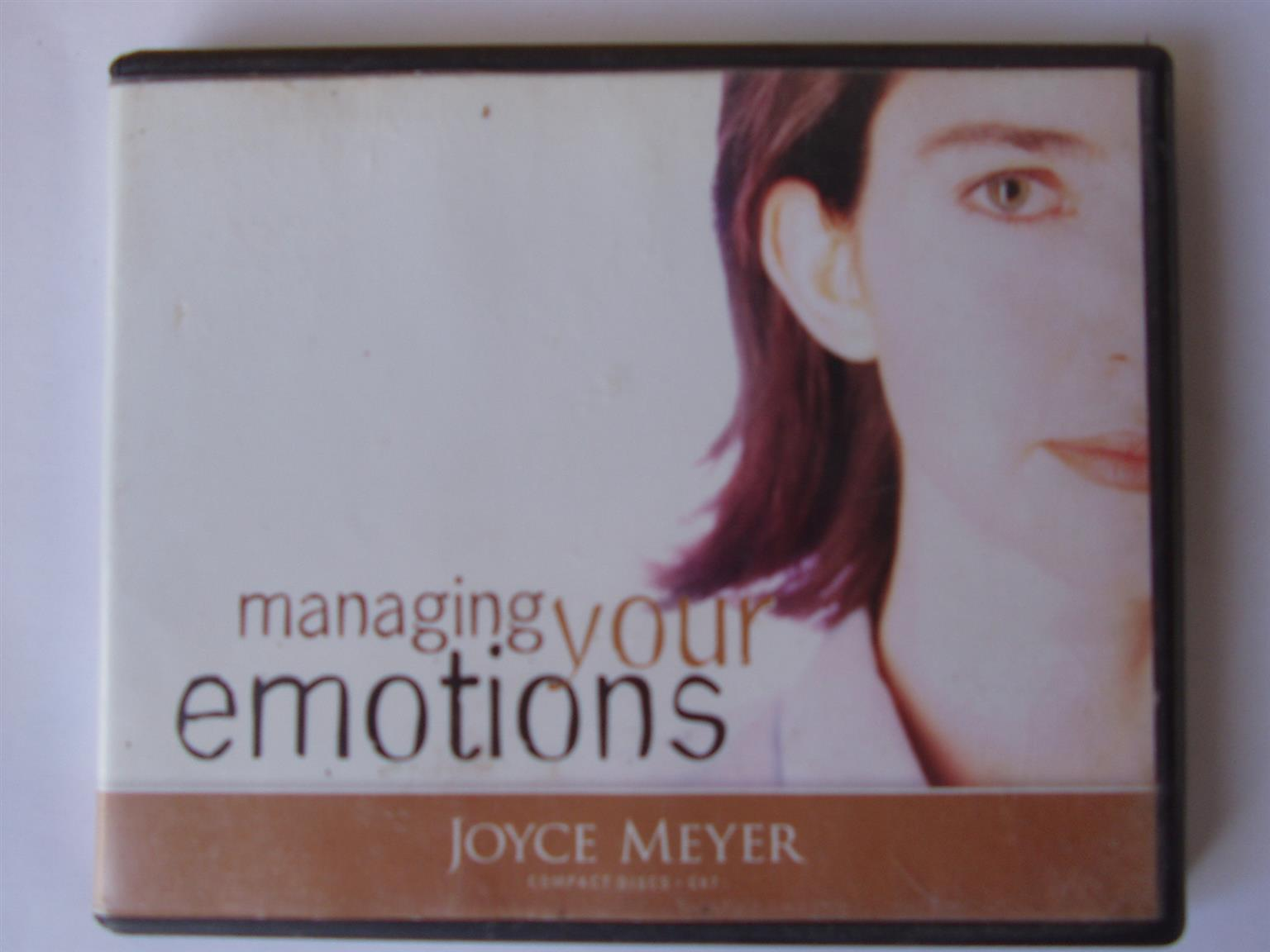 Managing Your Emotions - Joyce Meyer -  4 Cd's