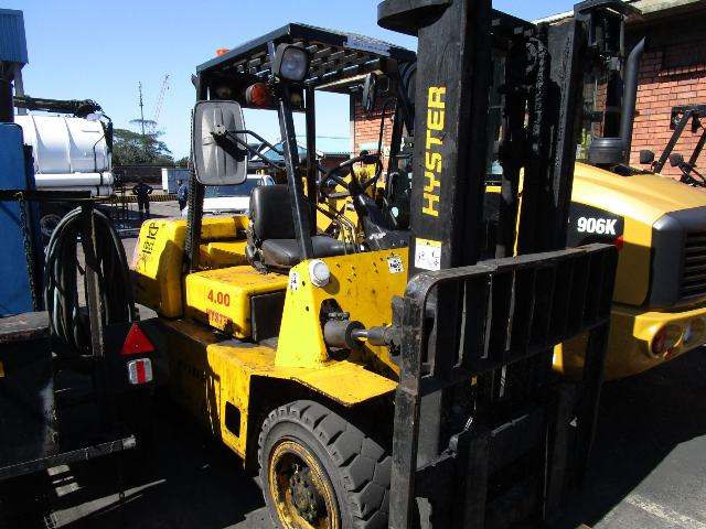 Hyster 4.00, 3.8 Ton Forklift - ON AUCTION