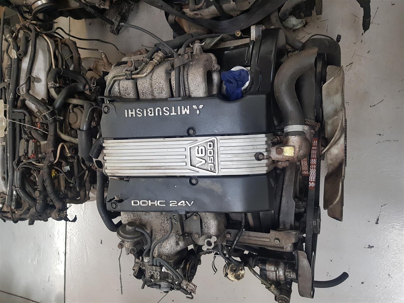 MITSUBISHI 3.5 V6 24 VALVE ENGINE (6G74) FOR SALE