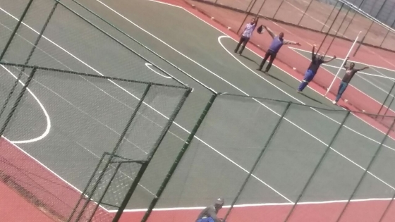 Basketball Courts Crack Repairs