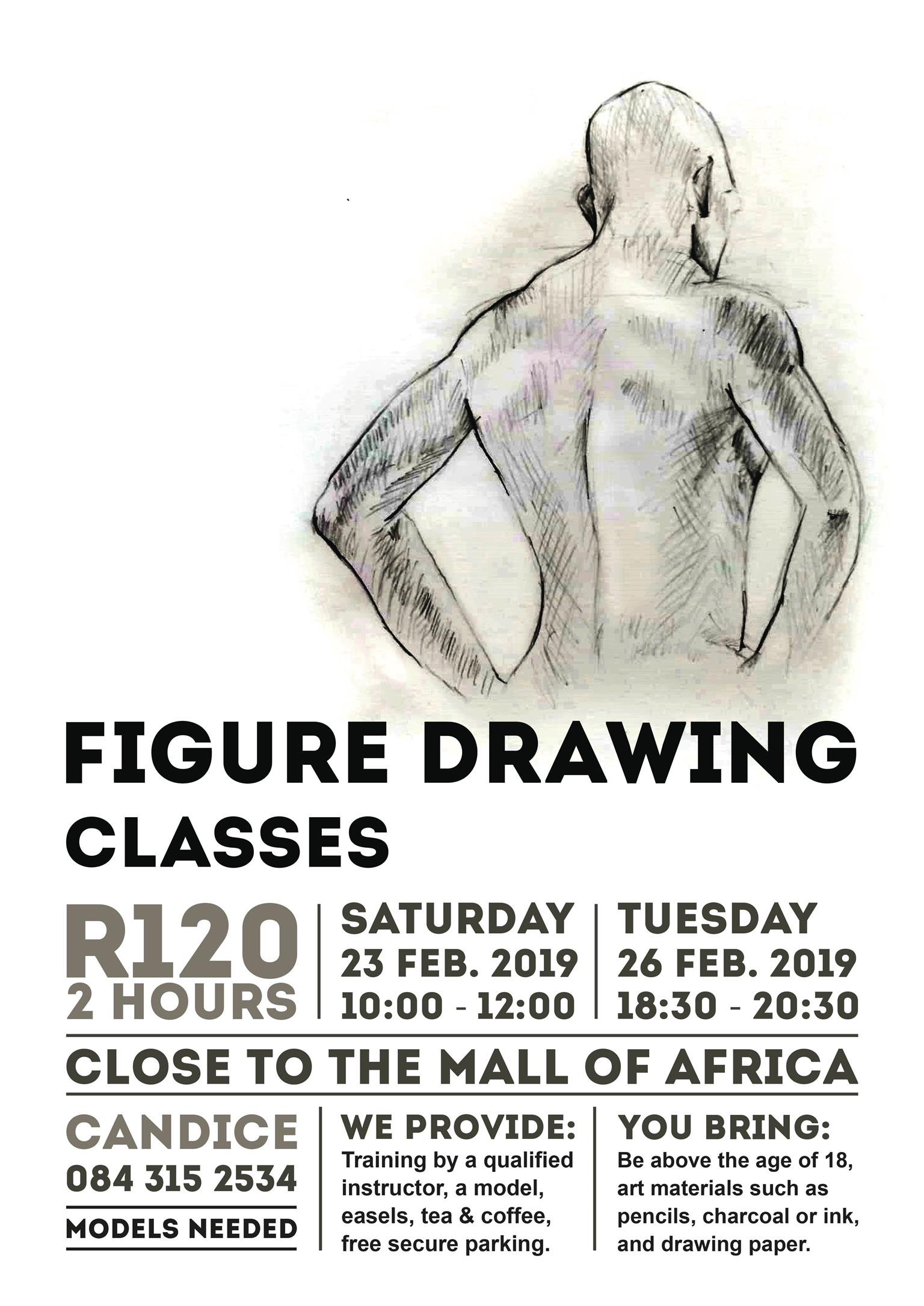 Figure Drawing classes by a Trained Professional | Junk Mail