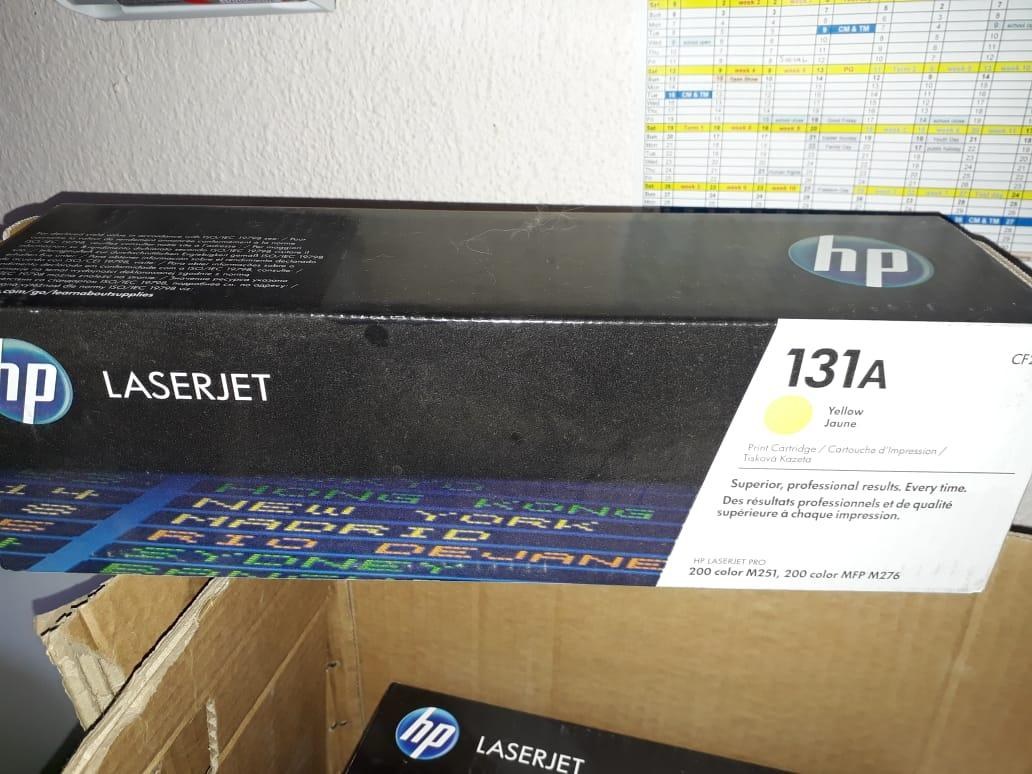 Hp 131a original cartridges