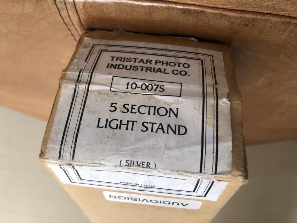 Home Photo studio kit - InterFit Tungsten 3200 Lighting Head + 310cm light stand