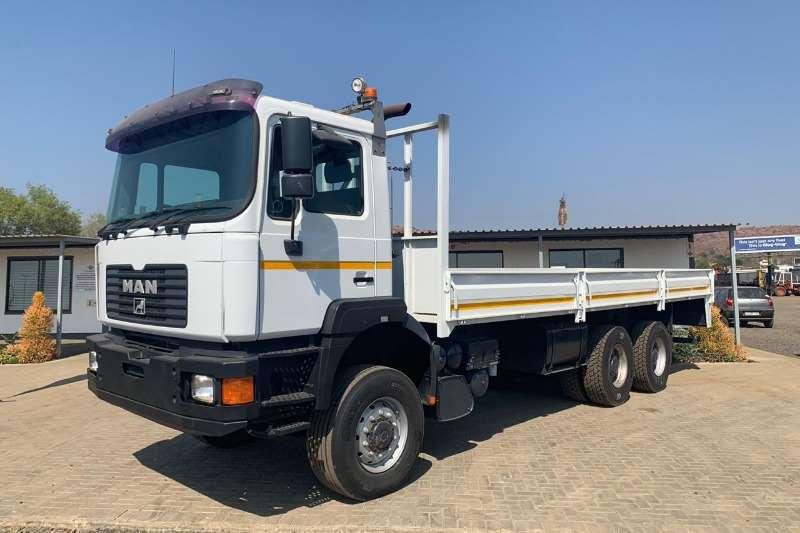 MAN Dropside Man 33 374  6 x 6 LWB Dropside Truck