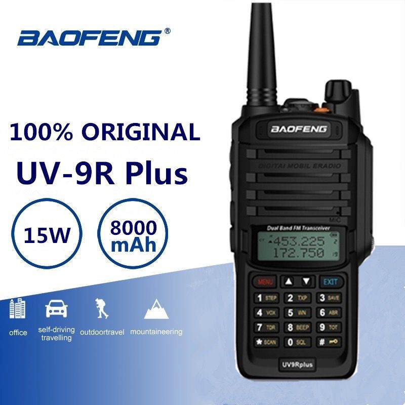 Latest Walkie Talkie Dual Band 15W Handheld 2Way Radio, Transceiver. Brand New Kits