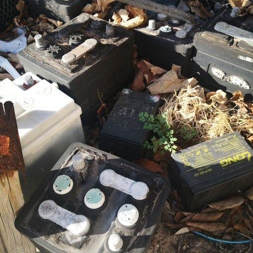 WANTED - OLD CAR BATTERIES