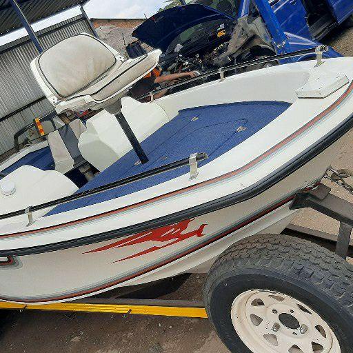 volvo bass boat