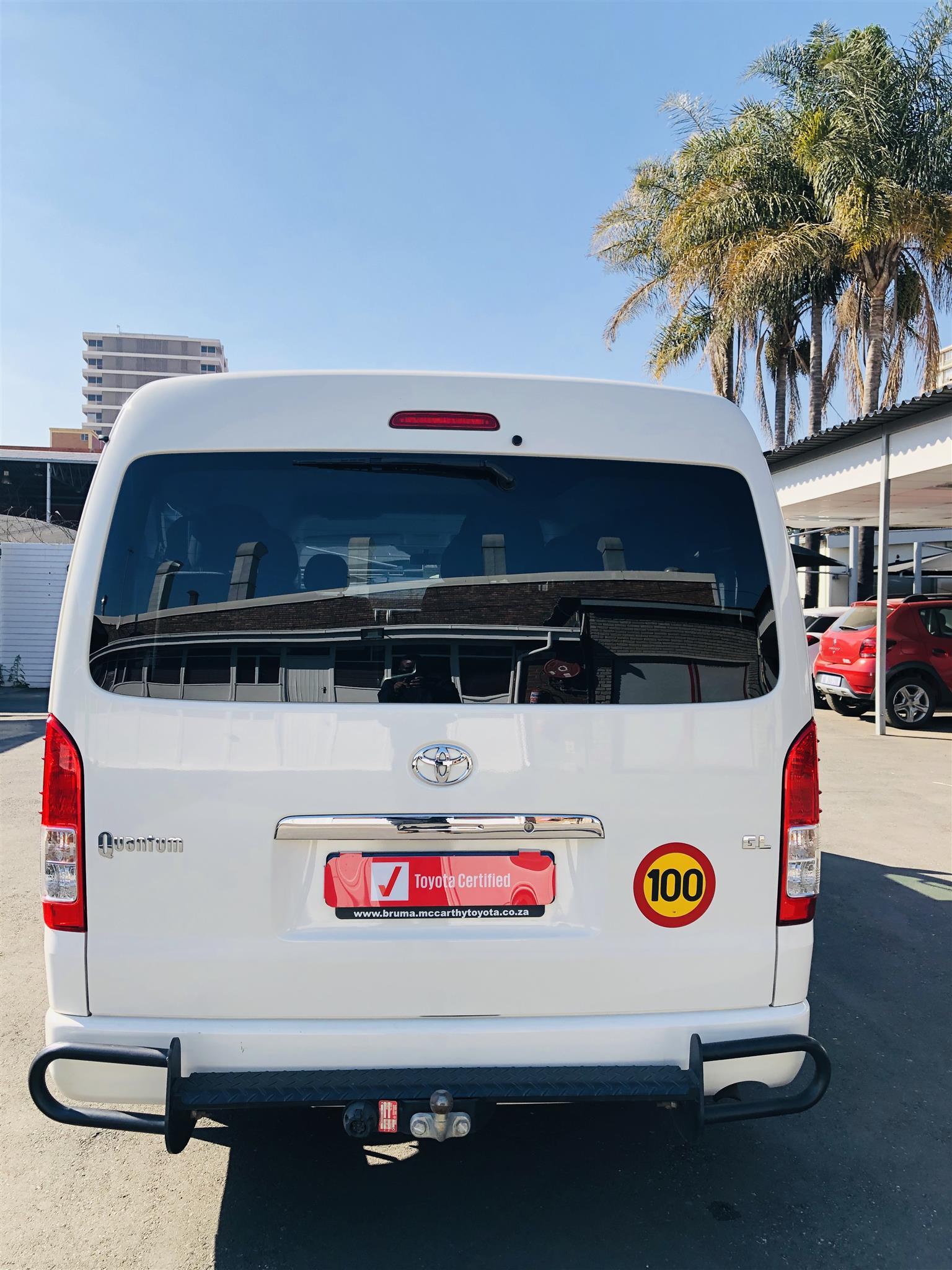 2018 Toyota Quantum 2.7 GL 10 seater bus