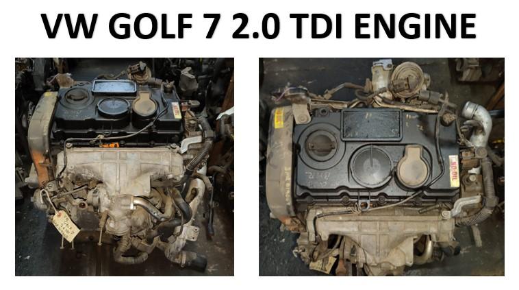 VW GOLF 7 2.0 TDI ENGINE FOR SALE