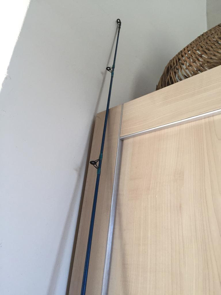 2-Part Fishing rod - ideal for a beginner - 245cm long