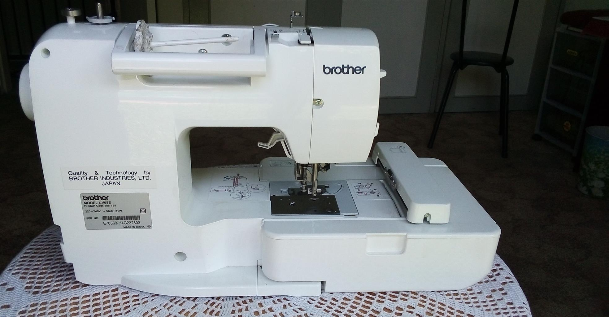 Brother Innov-is 95E (Personal Embroidery System)