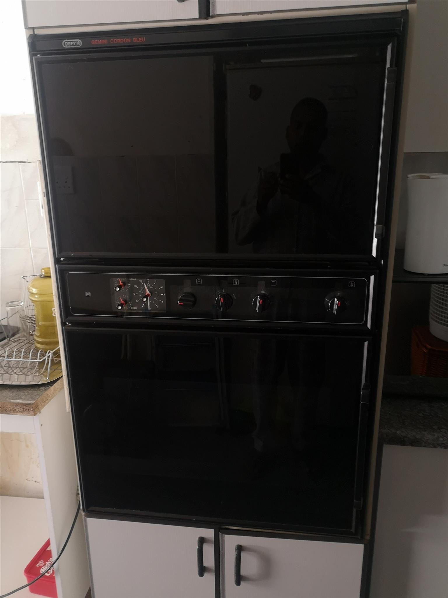 Defy Gemini Stove /High level Oven and Extractor