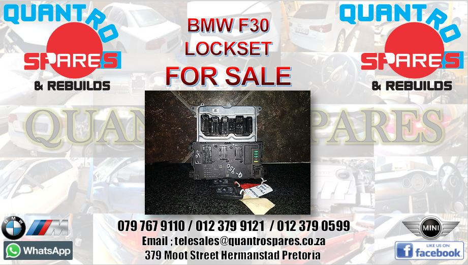 BMW F30 lockset for sale