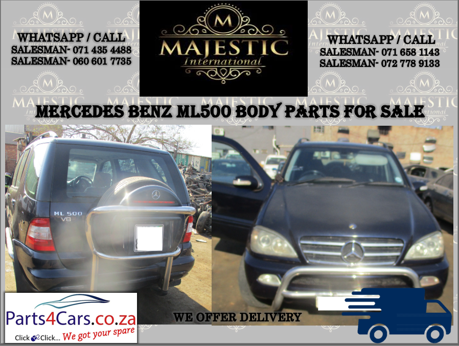 Mercedes Benz ML 500 body parts for sale