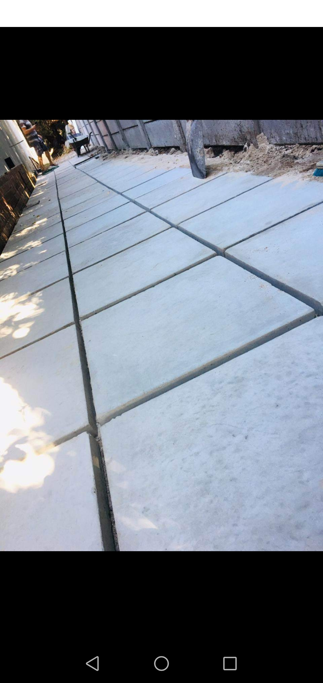 100/450x450 plain grey pavers in stock + free delivery in cape town R3000