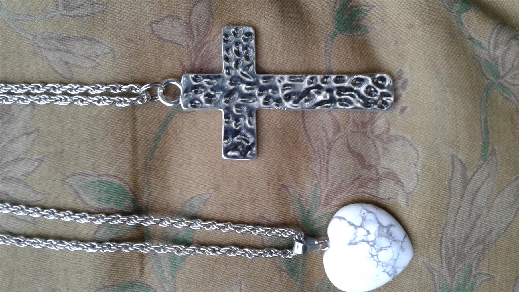 Stainless steel necklaces and bracelets