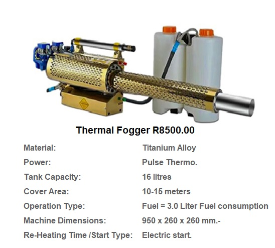 Thermal Fogger Machines FOR SALE