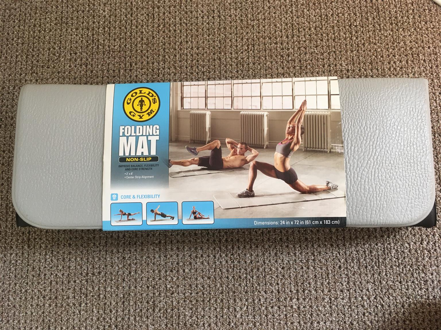 Gold's Gym Folding Exercise Mat