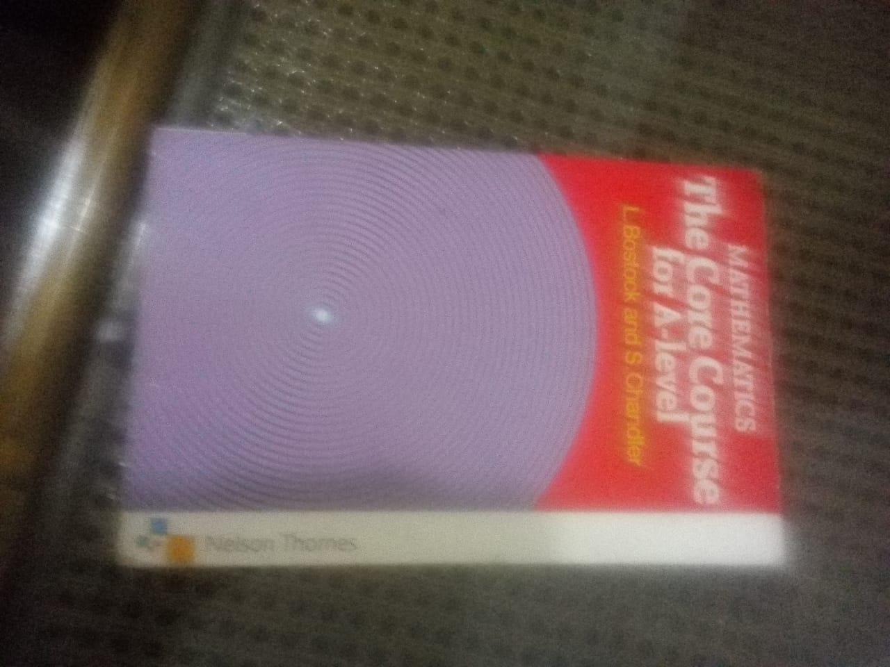 Core Course for A-level mathematics