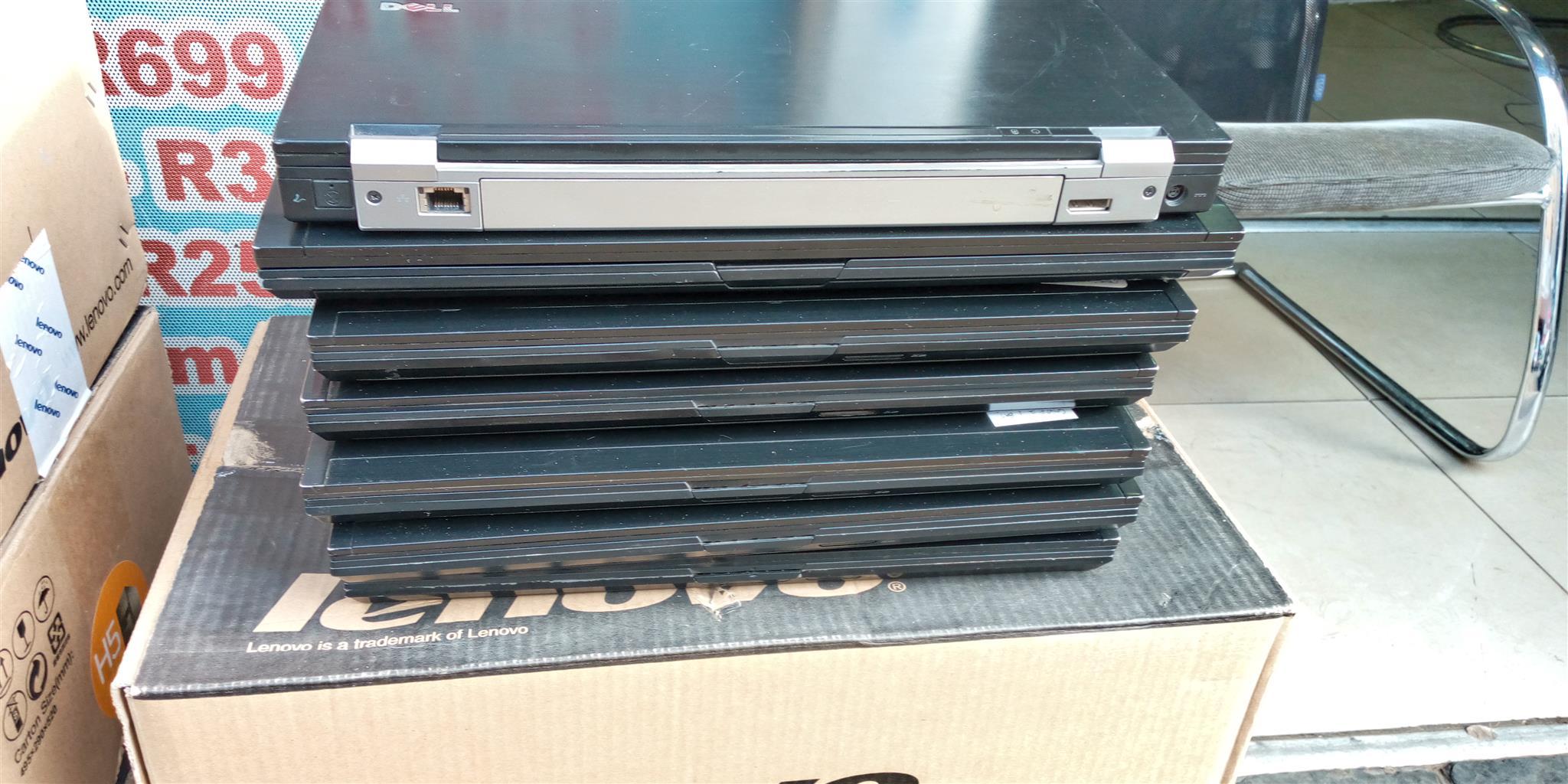 Dell latitude E6400 laptop slim an black with webcam