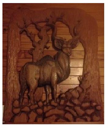 Kudu Carved