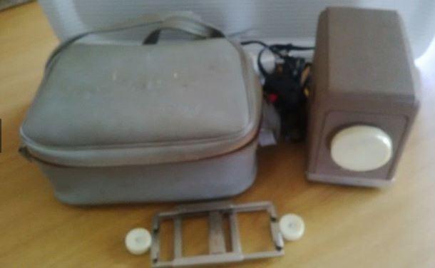 Retro Minolta Mini Projector with case