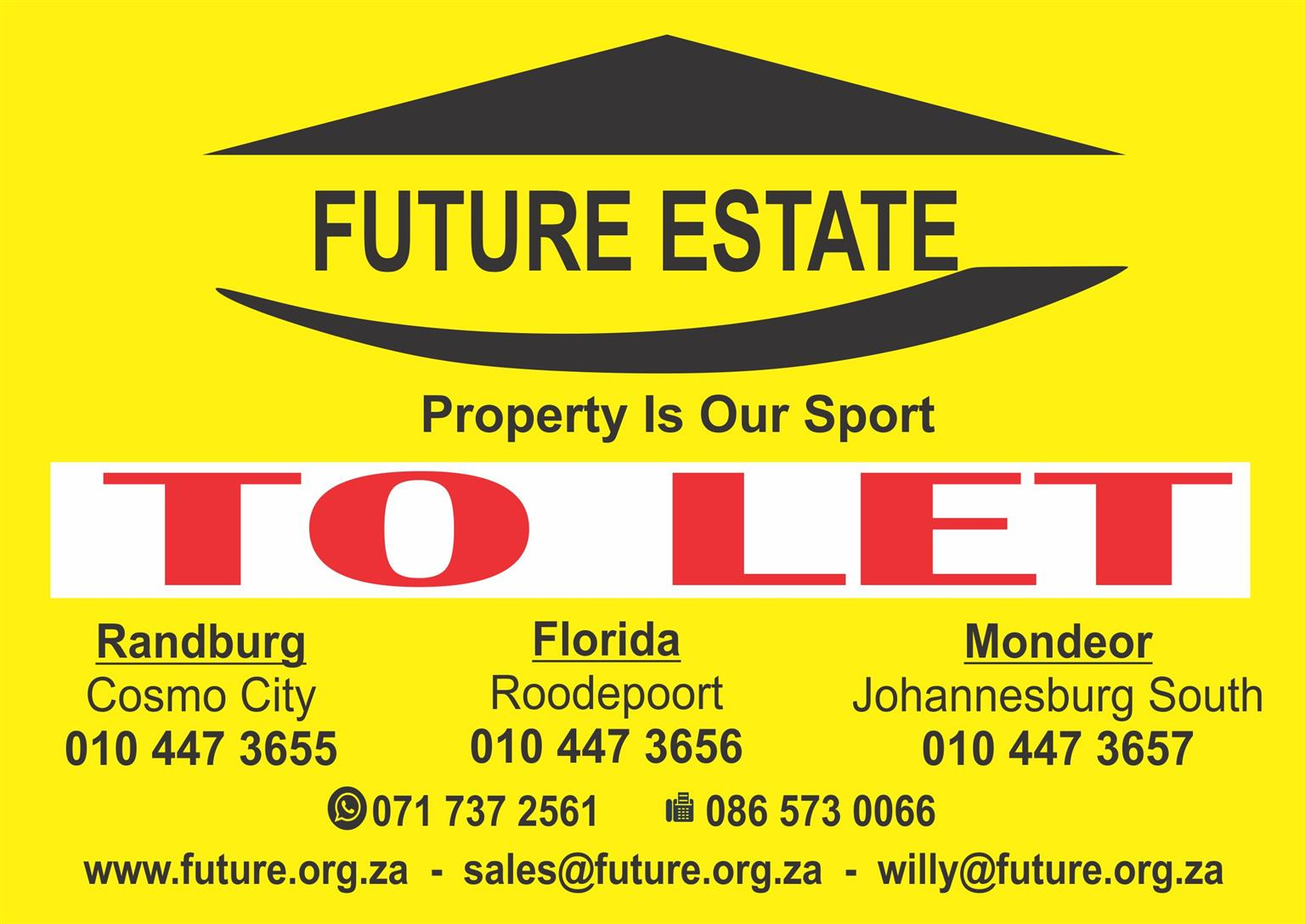 LET US FIND YOU TENANTS FOR YOUR OWN PROPERTY IN NATURENA