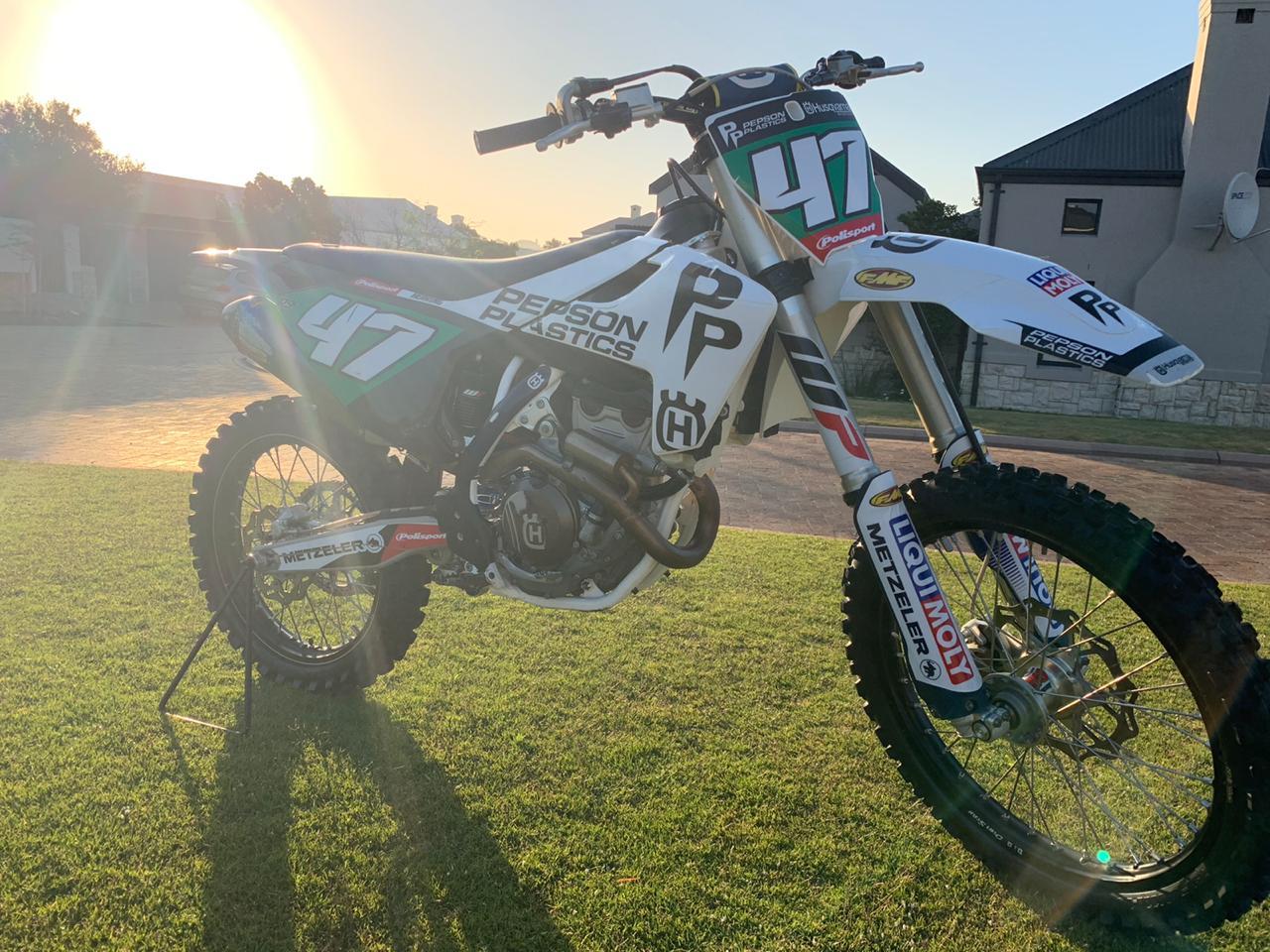 2017 Husqvarna FC 250 Motocross