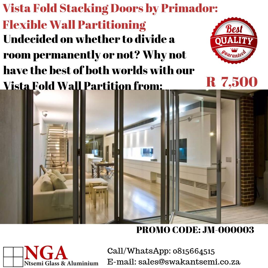 Vista Fold Room Partition