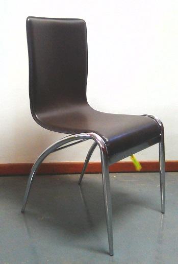 Kahlua leather chair brown